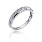 Обручальное кольцо с бриллиантами «Вечность»