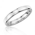 Золотое обручальное кольцо «Unique»