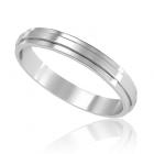 """Обручальное кольцо без камней """"Unity"""""""