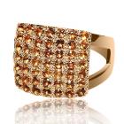 Золотое кольцо с цитрином «Ernestа Seton»
