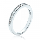 Золоте кільце  з діамантами «Bernardo»