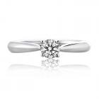 Золотое кольцо с куб.цирконием «Daniele»