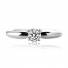 Золотое кольцо с бриллиантом «Calvin»