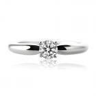 Золоте кільце з діамантом «Calvin»