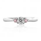 Золотое кольцо с бриллиантом «Biagio»