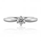 Золотое кольцо с цирконием «Gualtiero»
