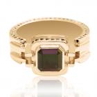 Золотой перстень с турмалином