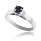 Золотое кольцо с сапфиром «Соблазн»