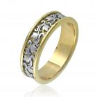 Золотое обручальное кольцо «Мисс Элегантность»