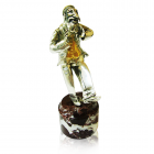 "Серебряная статуэтка ""Еврей танцующий"""