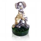 "Серебряная статуэтка ""Клоун Бим"""