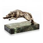 """Серебряная статуэтка """"Волк"""""""