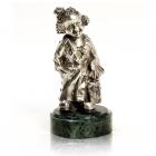 """Серебряная статуэтка """"Клоун"""""""