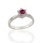 Перстень золотий з родолітом «Царівна Будур»