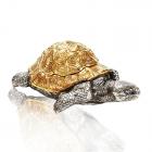 Шкатулка из серебра «Черепаха»