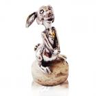 Серебряная статуэтка «Заяц»