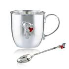 Срібний набір «Миша»