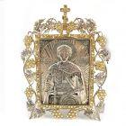 Икона настольная «Святой благоверный князь Александр Невский»