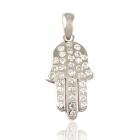 Золотой кулон с бриллиантами «Hamsa»