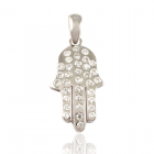 Золотой кулон с бриллиантами «Аэлита»