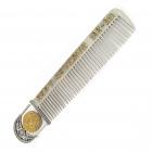 Серебряная расческа «Римская монета»