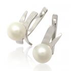 Золоті сережки з перлами «Люба моя Еллі»