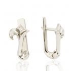 Сережки з діамантами «Золотий Інтеграл»