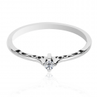 Золоте кільце з діамантом «Harita»