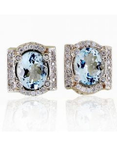 Эксклюзивные серьги с бриллиантами