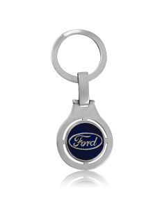 Серебряный брелок «Ford»