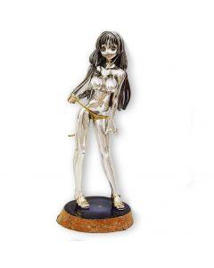 Срібна статуетка з позолотою «Нічний метелик»