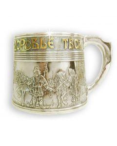 Чашка зі срібла «За здоров'я»
