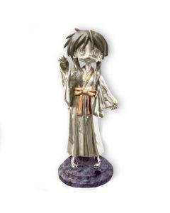 Срібна статуетка з позолотою «Дівчинка з японського аніме»