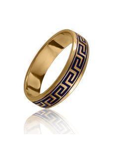"""Золотое обручальное кольцо """"Greece"""""""