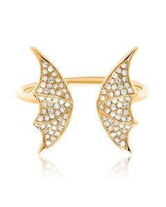 Золотые кольца с цирконом