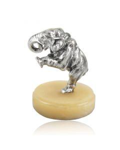 Серебряная статуэтка «Танцующий слоник»