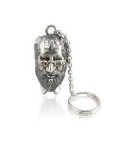 Срібний брелок для ключів «Доктор Фрейд»