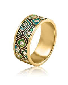 """Золотое кольцо """"Черепаха"""""""
