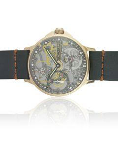 Годинник скелетон в золотому корпусі «BestTime»