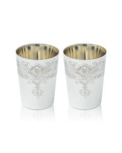 Набор стопок из серебра «Милорд» для спиртного