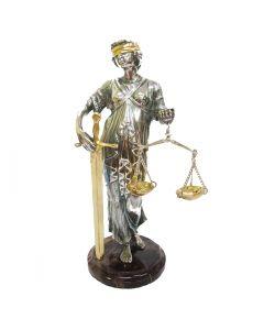 Серебряная статуэтка «Фемида»