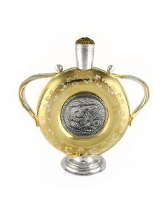 Серебряная фляга «Запорожская Сечь»