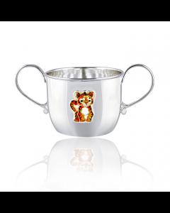 Кружка-поилка для детей «Тигр»