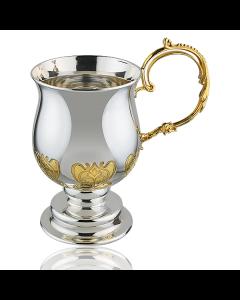 Кружка серебряная чайно-кофейная «TET-A-TET»