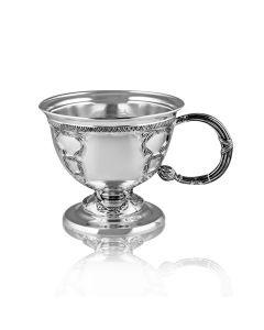 Серебряная чайная чашка