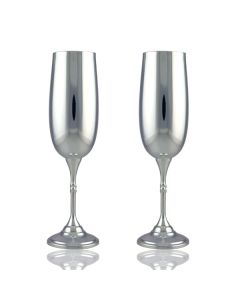 Весільні келихи срібло