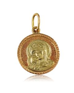 Золота ладанка «ПРЕСВЯТА ДІВА»