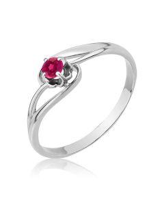 Золотое кольцо с рубином «Шейла»