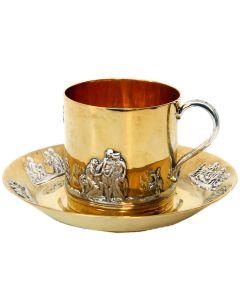 Чашка з блюдцем «Антична»