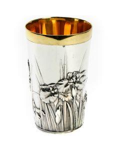 Стакан зі срібла «Іриси»